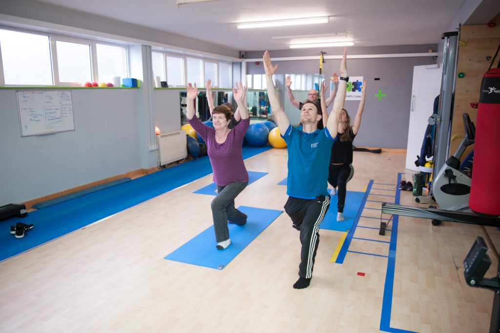 Parts of our Movement Revolution Classes focus on Shoulder stretches, correcting imbalances, and improving strength.